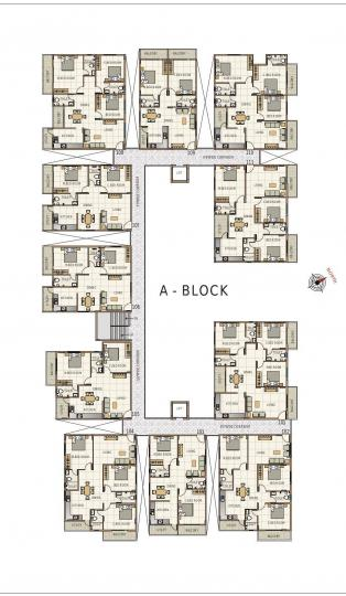 Project Image of 1130.0 - 1530.0 Sq.ft 2 BHK Apartment for buy in Terra Sai Sri Pride