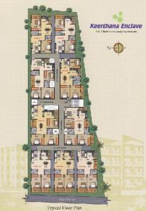 Gallery Cover Image of 1250 Sq.ft 2 BHK Apartment for rent in Sai Keerthana Enclave, Munnekollal for 20000