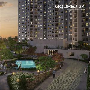 Gallery Cover Image of 653 Sq.ft 1 BHK Apartment for buy in Godrej 24, Volagerekallahalli for 3799002