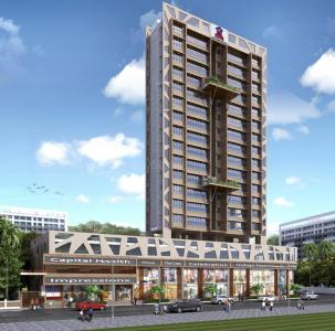 Project Image of 645.94 - 950.99 Sq.ft 2 BHK Apartment for buy in Sanghvi Solitaire