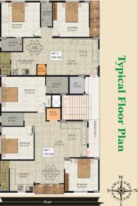 एसएलवी क्लासिक में खरीदने के लिए 1089.0 - 1269.0 Sq.ft 2 BHK अपार्टमेंट प्रोजेक्ट  की तस्वीर