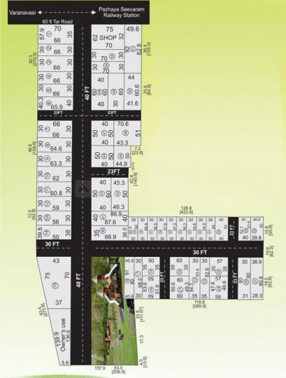 Project Image of 1750 - 4085 Sq.ft Residential Plot Plot for buy in SM Sri Arunachala City