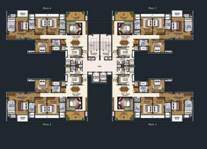 Project Image of 388.0 - 430.0 Sq.ft Studio Studio Apartment for buy in Lodha Belmondo Sawgrass B