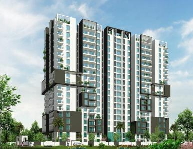 Gallery Cover Image of 1280 Sq.ft 2 BHK Apartment for rent in Keerthi Regalia, Halanayakanahalli for 27000