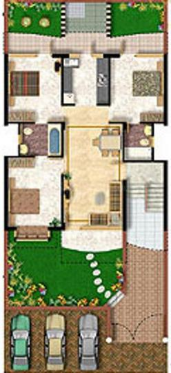 Project Image of 0 - 1174.0 Sq.ft 3 BHK Apartment for buy in Niho Scottish Castle