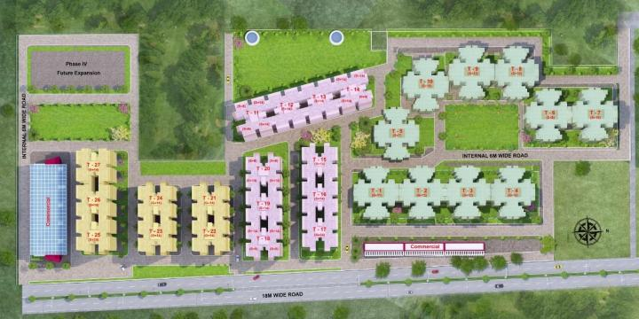 Project Image of 0 - 645 Sq.ft 3 BHK Apartment for buy in Adore Happy Homes Exclusive