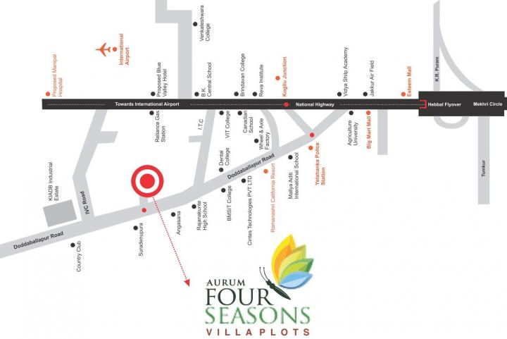 Project Image of 1200.0 - 1500.0 Sq.ft Residential Plot Plot for buy in Aurum Four Seasons Plots