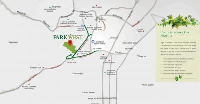 शपूरजी पल्लोंजी पार्कवेस्ट महोगनी टावर 2 में खरीदने के लिए 2 - 3120 Sq.ft 2 BHK अपार्टमेंट प्रोजेक्ट  की तस्वीर