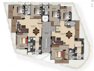 Project Image of 1401.0 - 1707.0 Sq.ft 3 BHK Apartment for buy in Unity Fifty 5 Mountain Street