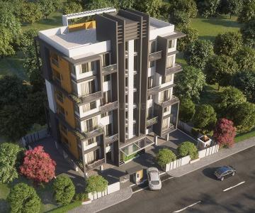 Project Image of 842.06 - 842.28 Sq.ft 3 BHK Apartment for buy in Ams Swaroop Enclave