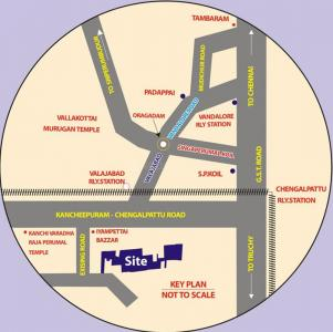 Project Image of 1500.0 - 2400.0 Sq.ft Residential Plot Plot for buy in Wisdom Sri Sathya Sai Nagar Extension I