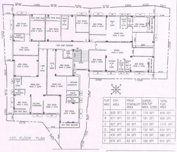 Project Image of 515.0 - 1115.0 Sq.ft 2 BHK Apartment for buy in D B Bhagawati Apartment