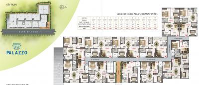Project Image of 960.0 - 1256.0 Sq.ft 2 BHK Apartment for buy in R Sun Palazzo