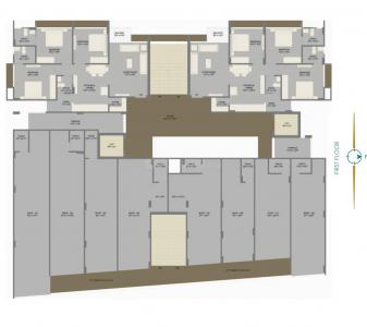 Project Image of 781.46 - 785.77 Sq.ft 3 BHK Apartment for buy in Supan Serene 2
