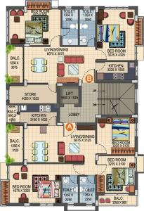Project Image of 1201 - 1288 Sq.ft 2 BHK Apartment for buy in KIC Jogesh Villa