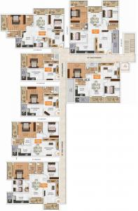 Project Image of 980.0 - 1335.0 Sq.ft 2 BHK Apartment for buy in Ruchira Aarna Homes