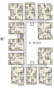 Gallery Cover Image of 1530 Sq.ft 3 BHK Apartment for rent in Sai Sri Pride, Hennur for 25000