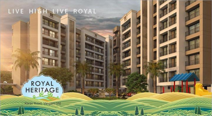 Project Image of 260.0 - 396.0 Sq.ft 1 RK Apartment for buy in ROYAL HERITAGE