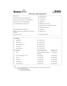 Project Image of 2168 Sq.ft 3 BHK Apartment for buyin Sector 58 for 24000000
