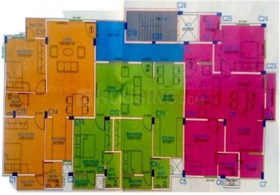 Gallery Cover Image of 1100 Sq.ft 2 BHK Apartment for rent in Meridean, Kaggadasapura for 24000