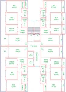 Project Image of 0 - 530.0 Sq.ft 2 BHK Apartment for buy in Mahavir Garden