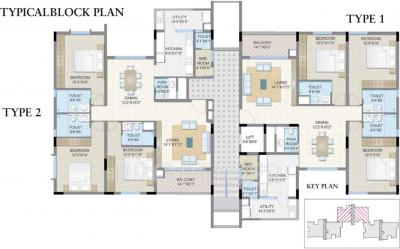Project Image of 0 - 2120.0 Sq.ft 3 BHK Apartment for buy in Legacy Soreno