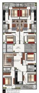 द प्रॉपर्टीज़ न्यू फ्लोर्स में खरीदने के लिए 500.0 - 1350.0 Sq.ft 2 BHK अपार्टमेंट प्रोजेक्ट  की तस्वीर