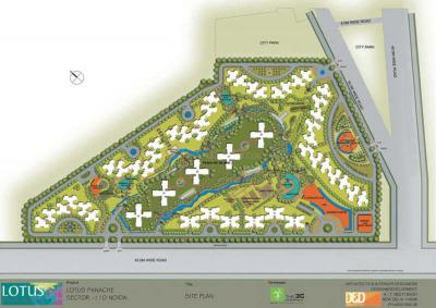 Project Image of 988.0 - 2587.0 Sq.ft 2 BHK Apartment for buy in 3C Lotus Panache