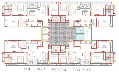 Project Image of 1068.0 - 1212.23 Sq.ft 3 BHK Apartment for buy in Saraswati Infraspace Felicia 2