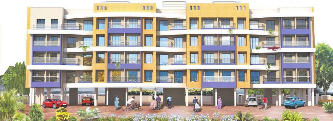 Project Image of 218.51 - 351.33 Sq.ft 1 RK Apartment for buy in Krishna Vinayak Aangan