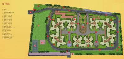 Gallery Cover Image of 1860 Sq.ft 3 BHK Apartment for buy in Sobha Chrysanthemum, Kothanur for 11500000