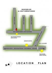 एसएस 2 गोल्फ क्लब रोड  में खरीदने के लिए 2 - 1600 Sq.ft 2 BHK अपार्टमेंट प्रोजेक्ट  की तस्वीर