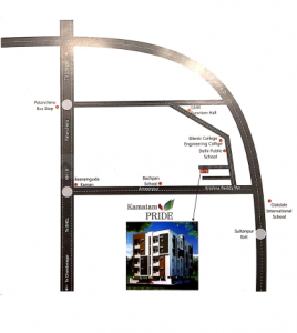 Project Image of 1000 - 1150 Sq.ft 2 BHK Apartment for buy in KSR Constructions Kamatam Pride