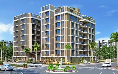 Project Image of 0 - 1170 Sq.ft 2 BHK Apartment for buy in Jay Visat Infra Royal