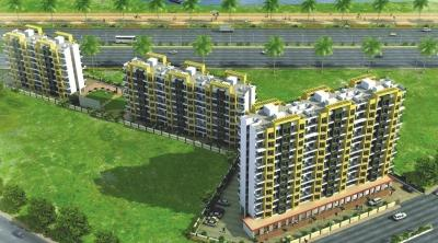 Gallery Cover Image of 645 Sq.ft 1 BHK Apartment for rent in Royce Paradise, Kalyan West for 8000