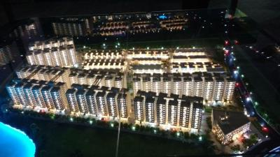 Gallery Cover Image of 1110 Sq.ft 3 BHK Apartment for buy in Provident Kenworth , Budvel for 6290000
