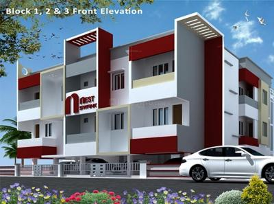 Gallery Cover Image of 776 Sq.ft 2 BHK Apartment for rent in Sithalapakkam for 12500