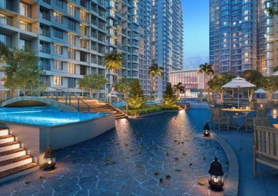 Gallery Cover Image of 1200 Sq.ft 2 BHK Apartment for buy in Marathon Nexzone Zenith 1, Panvel for 9000000
