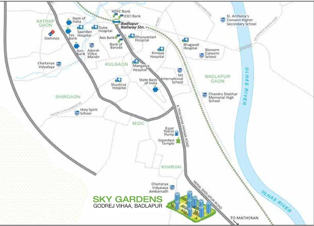 Project Image of 361.78 - 570.16 Sq.ft 1 BHK Apartment for buy in Godrej Sky Gardens At Godrej Vihaa
