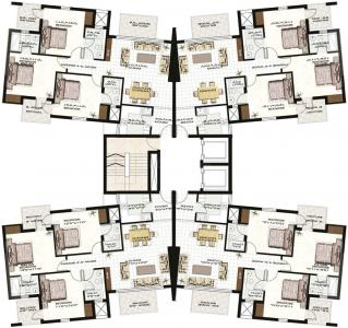 Project Image of 1292.0 - 2175.0 Sq.ft 2.5 BHK Apartment for buy in Anant Raj Madelia