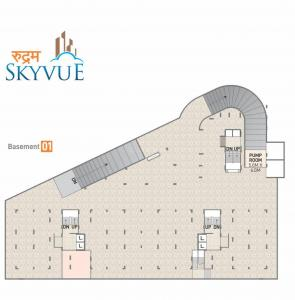 Project Image of 695.67 - 1125.04 Sq.ft 2 BHK Apartment for buy in Rudram Skyvue