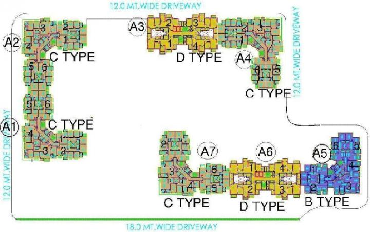 Project Image of 1670 Sq.ft 3 BHK Apartment for rentin Akshayanagar for 26000
