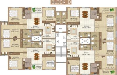 Project Image of 0 - 765.0 Sq.ft 2 BHK Apartment for buy in Meena Graciya