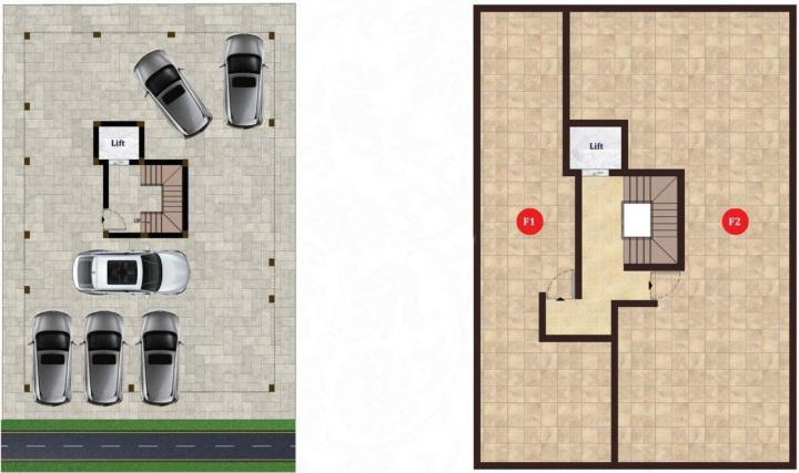 Project Image of 812.0 - 1300.0 Sq.ft 2 BHK Apartment for buy in ATH Madrid