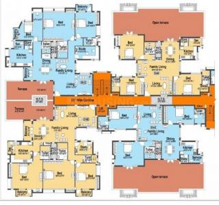 Gallery Cover Image of 1425 Sq.ft 3 BHK Apartment for rent in Etopia 1, Perungudi for 25000