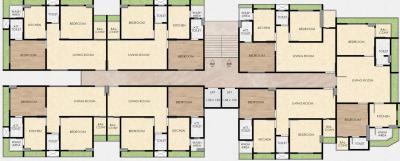 Project Image of 592.23 - 650.46 Sq.ft 2 BHK Apartment for buy in Space Saibaba Heights