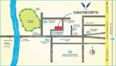 Project Image of 627.0 - 668.0 Sq.ft 2 BHK Apartment for buy in Gorai Laxmi CHSL Casa Bellisimo B Wing