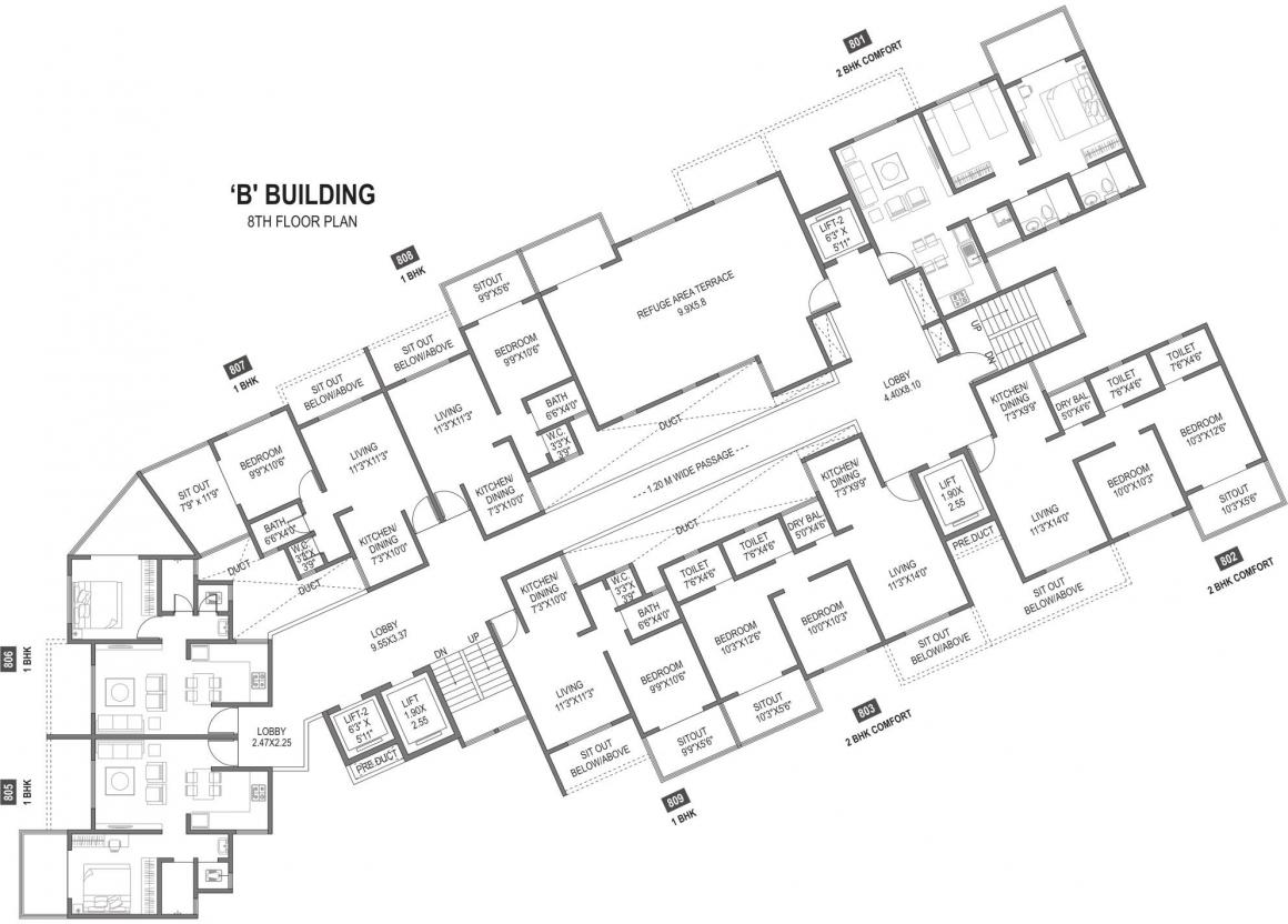 park-building-b-cluster-plan-for-8th-floor-4062205.jpeg