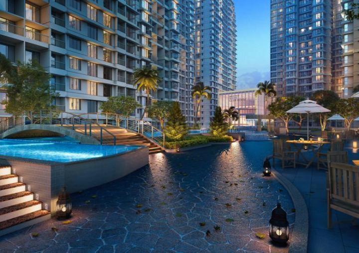 Project Image of 581.0 - 700.0 Sq.ft 2 BHK Apartment for buy in Marathon Nexzone Avior 1