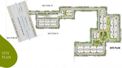 Project Image of 350.26 - 740 Sq.ft 1 BHK Apartment for buy in Supertech The Valley